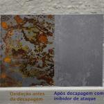 Decapagem quimica em aço carbono